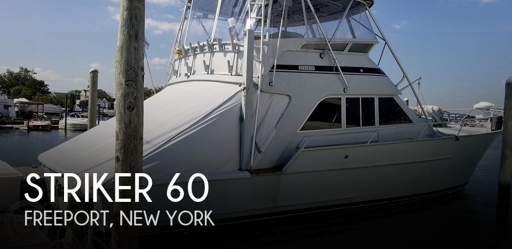 Used Boats For Sale in Bridgeport, Connecticut by owner | 1981 Striker 60