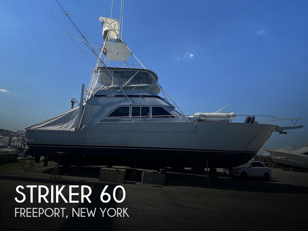 1981 Striker boat for sale, model of the boat is 60 & Image # 1 of 40