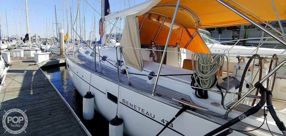 2004 Beneteau boat for sale, model of the boat is Oceanis 473 & Image # 5 of 40