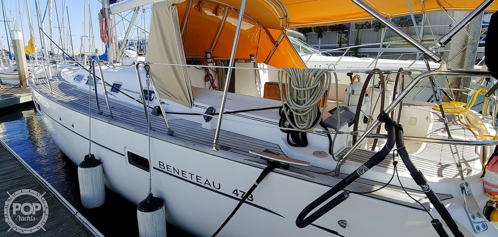 2004 Beneteau boat for sale, model of the boat is Oceanis 473 & Image # 6 of 40