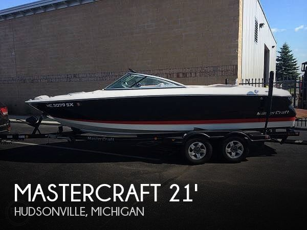 Used Mastercraft Boats For Sale in Michigan by owner   2006 Mastercraft Maristar 215