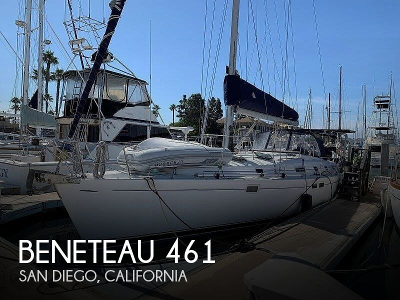 1997 Beneteau boat for sale, model of the boat is Oceanis 461 & Image # 1 of 40