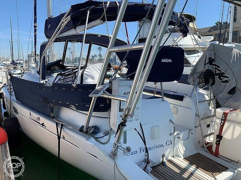 1997 Beneteau boat for sale, model of the boat is Oceanis 461 & Image # 36 of 41