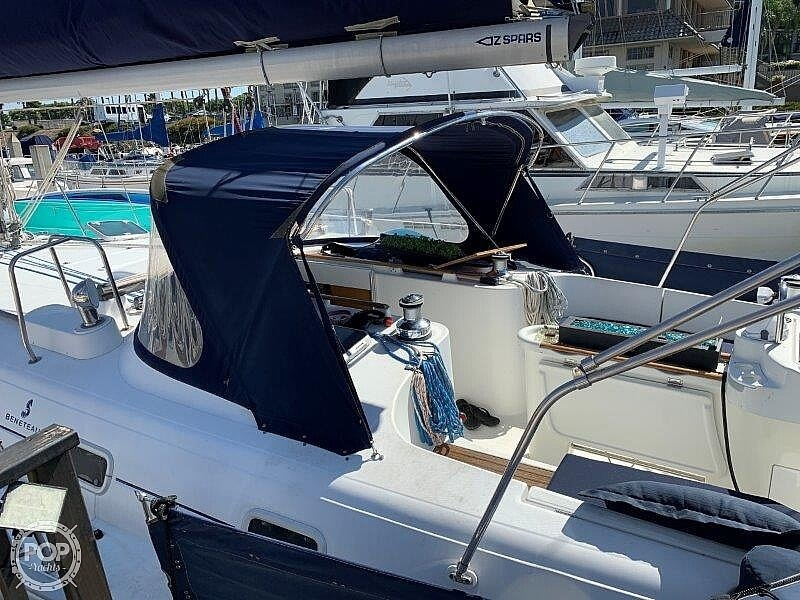 1997 Beneteau boat for sale, model of the boat is Oceanis 461 & Image # 37 of 40