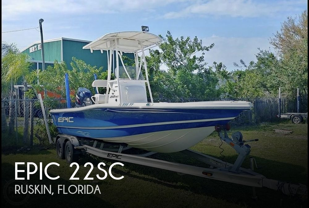 Used Epic Boats For Sale by owner | 2014 Epic 22SC