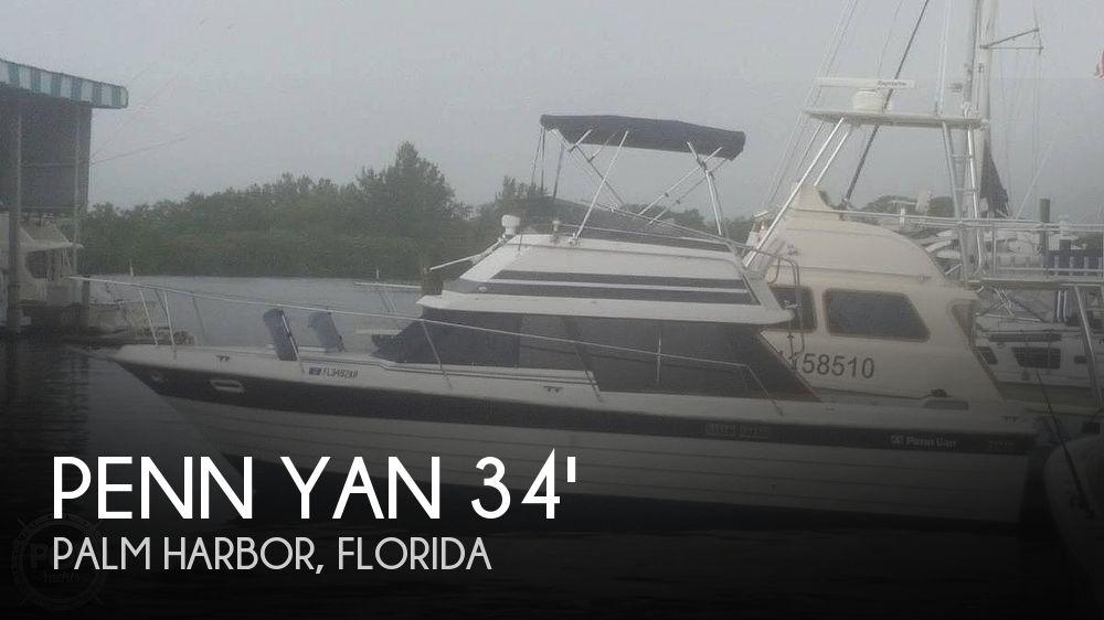 Used Penn yan Boats For Sale by owner | 1982 33 foot Penn Yan Sedan Sportfish