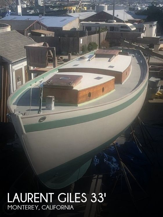 1958 Laurent Giles boat for sale, model of the boat is Wanderer 33' & Image # 1 of 40