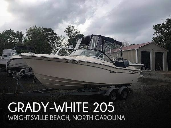 Used Grady-White Boats For Sale in North Carolina by owner | 2008 Grady-White 205 Freedom