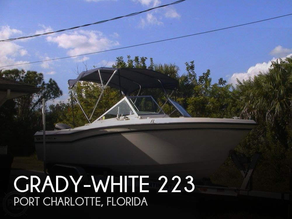 1984 Grady-White boat for sale, model of the boat is Tournament 223 & Image # 1 of 41