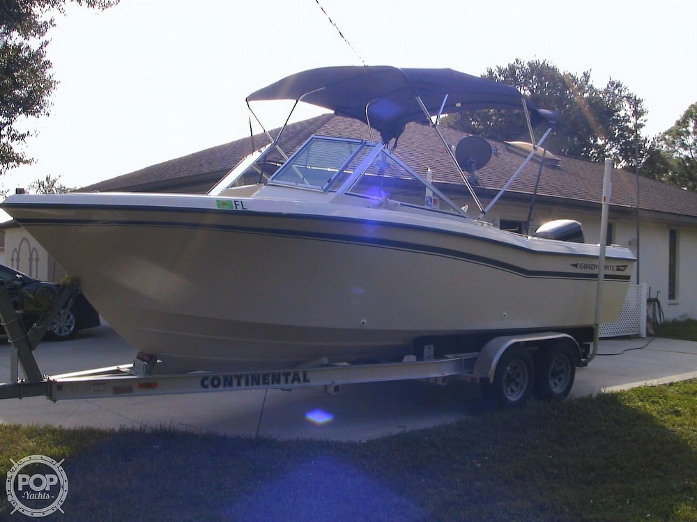 1984 Grady-White boat for sale, model of the boat is Tournament 223 & Image # 16 of 41