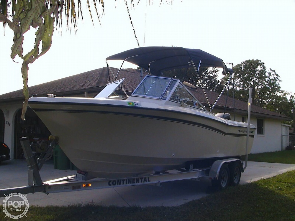 1984 Grady-White boat for sale, model of the boat is Tournament 223 & Image # 2 of 41