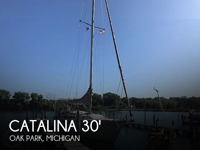 Used Catalina Boats For Sale in Michigan by owner   1985 Catalina 30