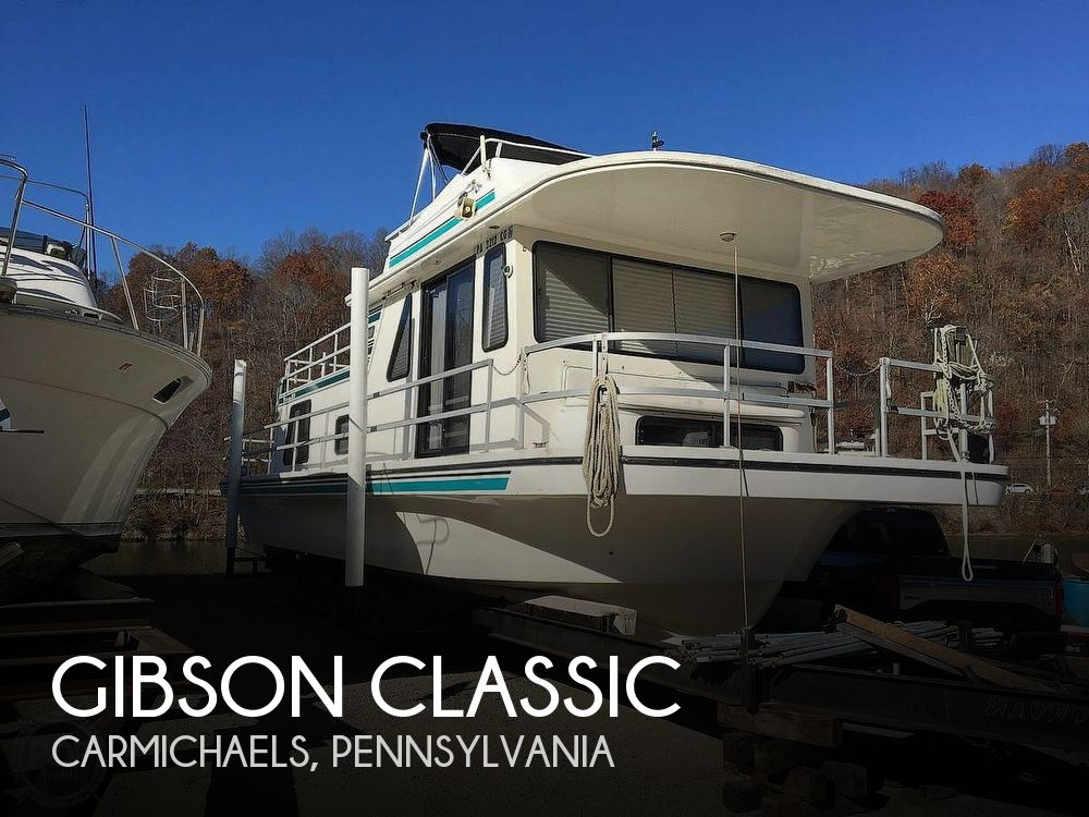 Used Houseboats For Sale in Pennsylvania by owner | 2000 42 foot Gibson Classic