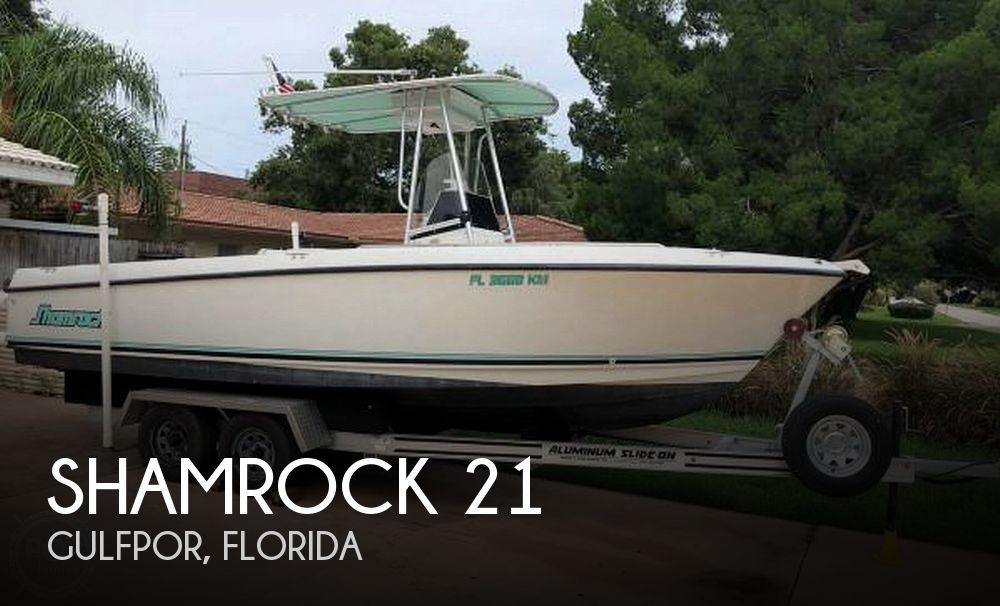 Used Shamrock Boats For Sale by owner | 1999 Shamrock 21