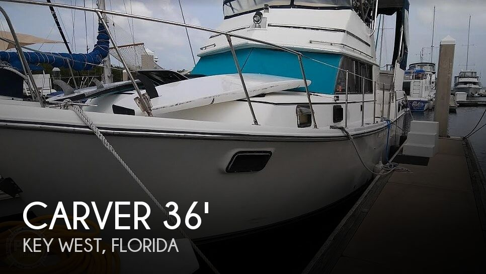 Used Carver 3607 Aft Cabin Boats For Sale by owner | 1983 Carver 3607 Aft Cabin