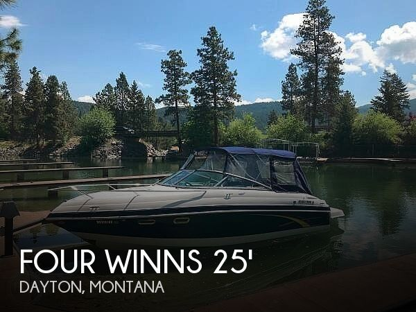 Used Boats For Sale in Montana by owner | 2007 25 foot Four Winns Sundowner