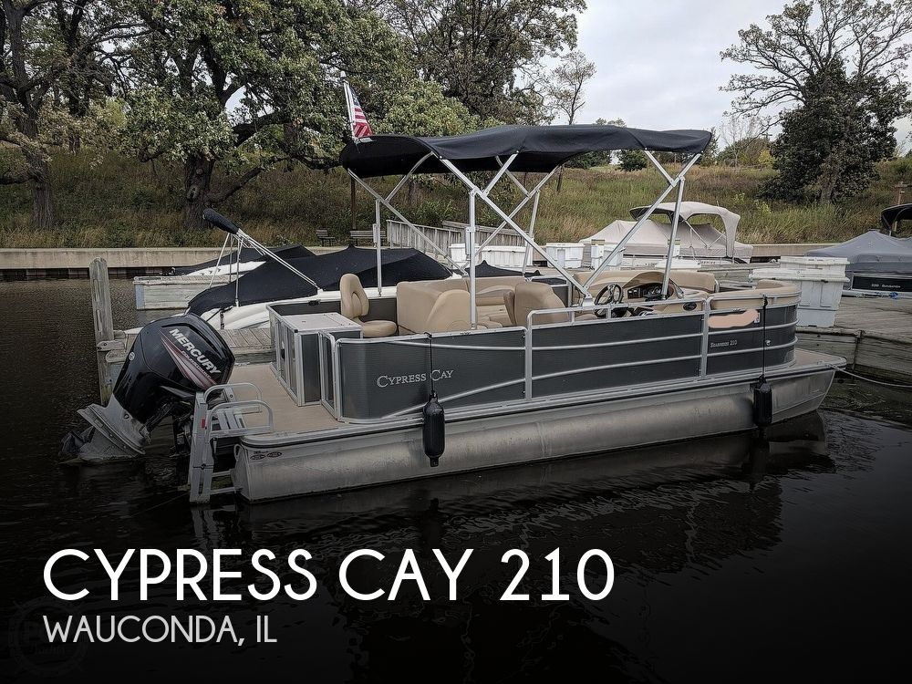 2015 Cypress Cay boat for sale, model of the boat is Seabreeze 210 & Image # 1 of 40