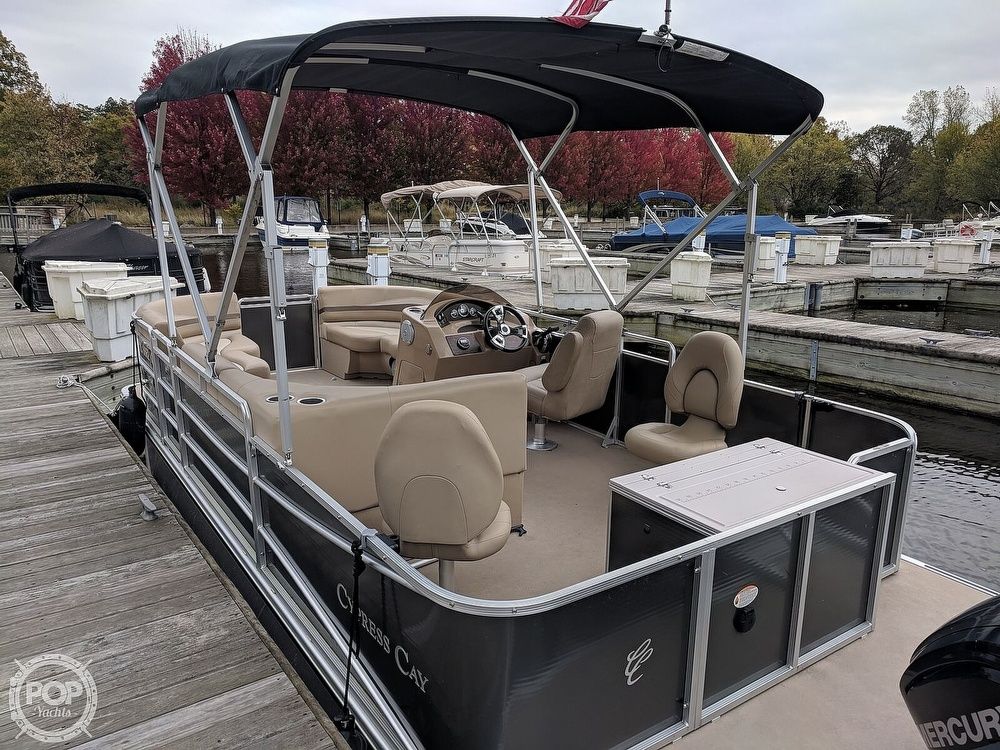 2015 Cypress Cay boat for sale, model of the boat is Seabreeze 210 & Image # 3 of 40