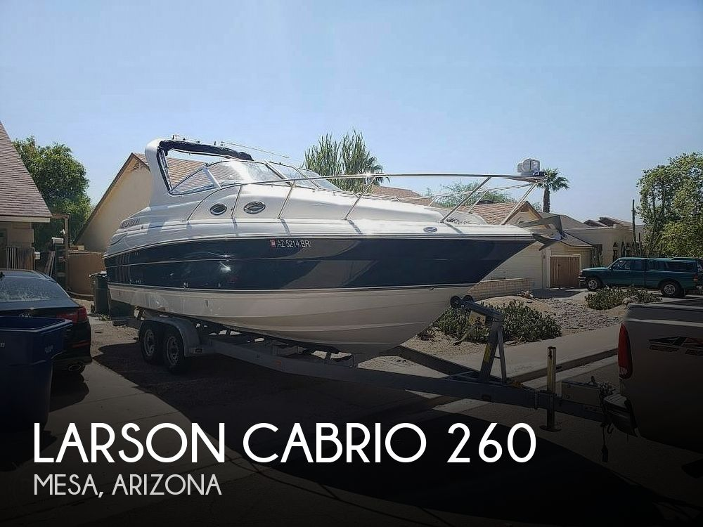 Used Larson Boats For Sale by owner | 2008 26 foot Larson Cabrio Sport Cruiser