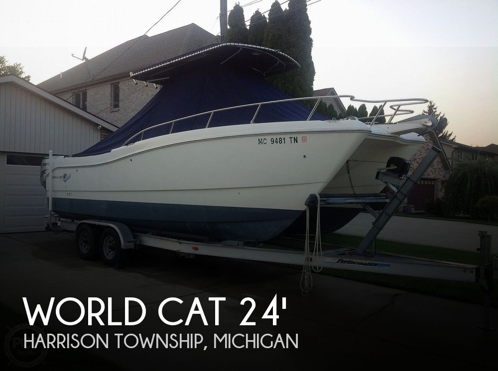 Used World Cat Boats For Sale by owner | 2002 World Cat 246