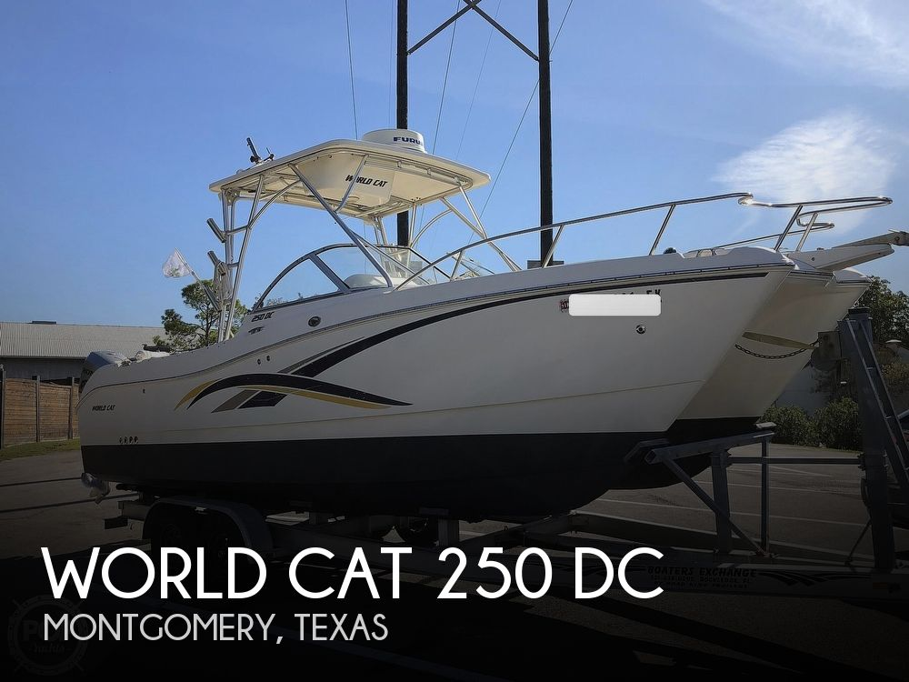 Used World Cat Boats For Sale by owner | 2006 World Cat 250 DC
