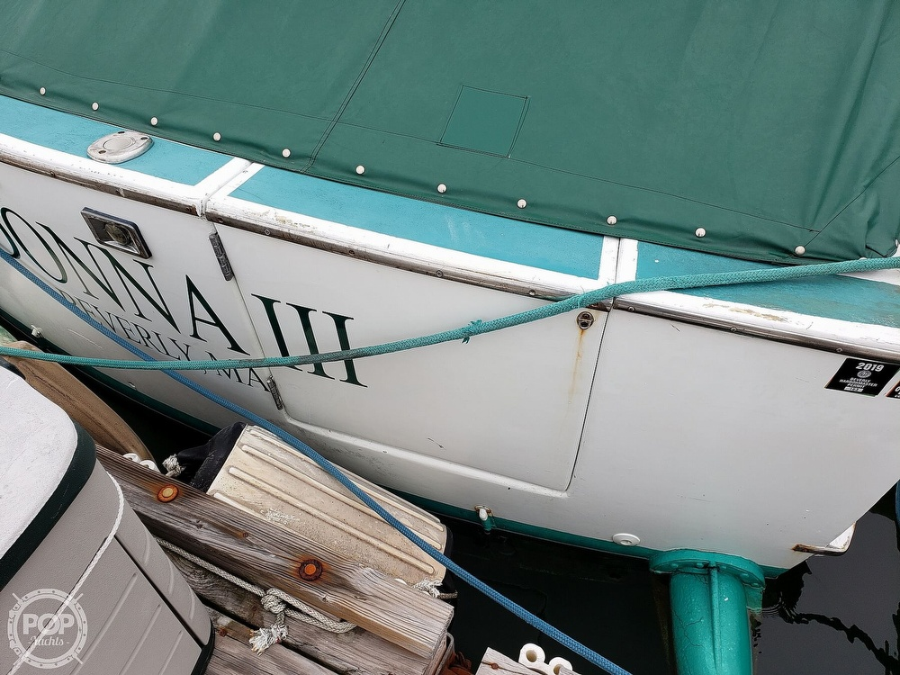 1967 Hatteras boat for sale, model of the boat is 34 Convertible & Image # 7 of 40