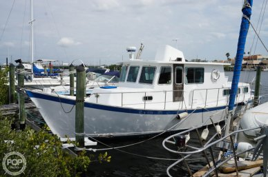 1977 Thompson 44 Trawler - #1