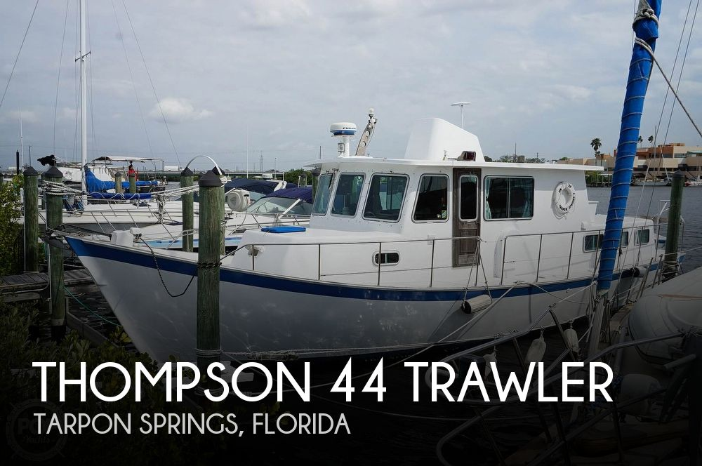 1977 Thompson boat for sale, model of the boat is 44 Trawler & Image # 1 of 40