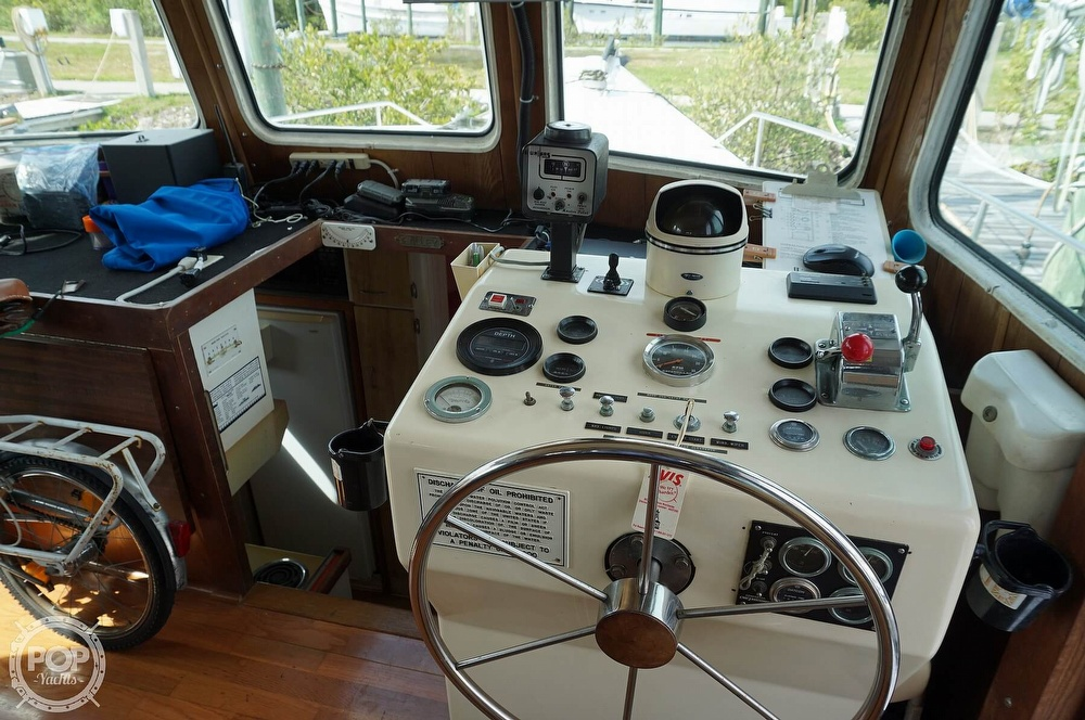 1977 Thompson boat for sale, model of the boat is 44 Trawler & Image # 4 of 40