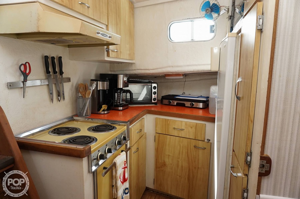 1977 Thompson boat for sale, model of the boat is 44 Trawler & Image # 7 of 40