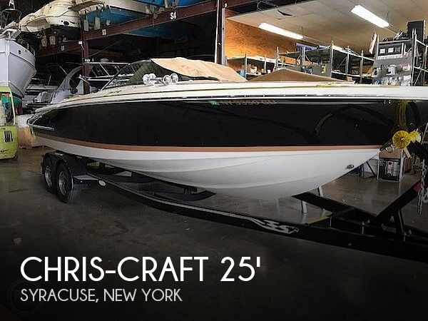 Used Boats For Sale in Binghamton, New York by owner | 2010 25 foot Chris-Craft Chris Craft