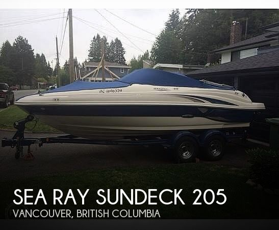 Used Sea Ray Sundeck 205 Boats For Sale by owner | 2004 Sea Ray Sundeck 205