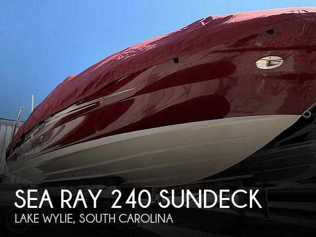 Used Sea Ray Boats For Sale in Spartanburg, South Carolina by owner | 2006 Sea Ray 240 Sundeck