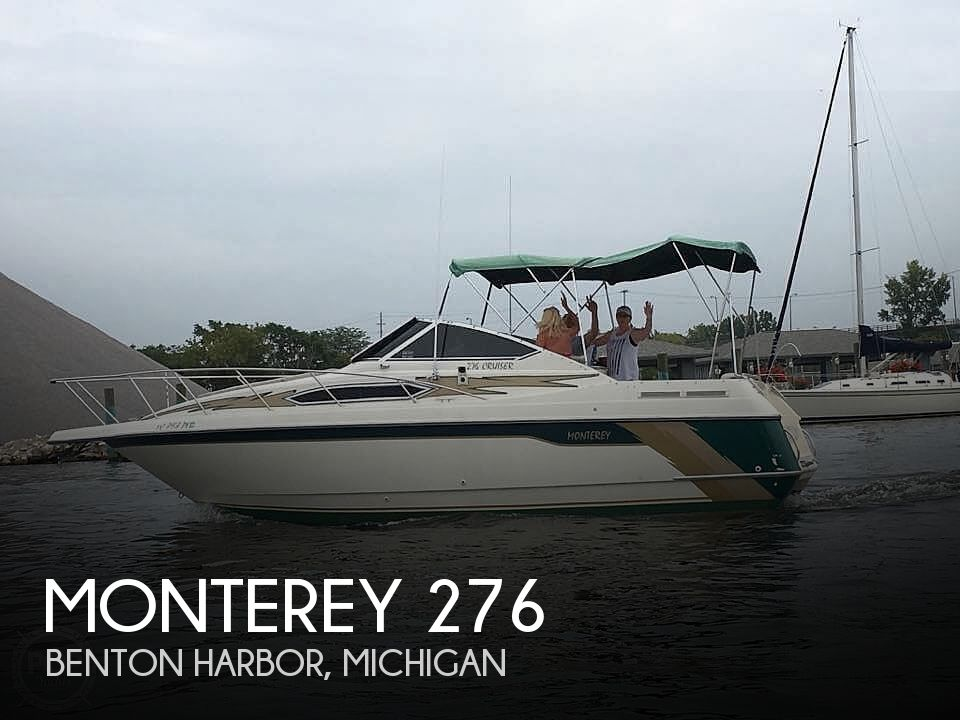 Used Monterey Boats For Sale in Michigan by owner   1996 Monterey 276
