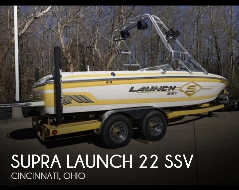 Used SUPRA Boats For Sale in Ohio by owner | 2002 Supra Launch 22 SSV