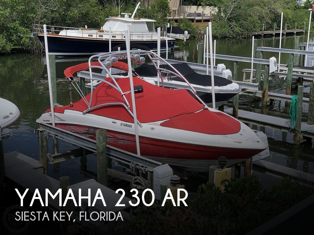 2006 Yamaha boat for sale, model of the boat is 230 AR & Image # 1 of 40