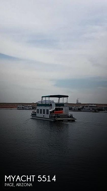 Used Houseboats For Sale in Arizona by owner | 1995 Myacht 5514