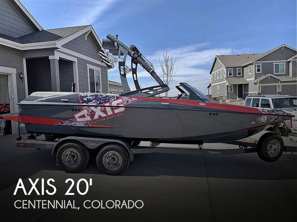 Used Boats For Sale in Boulder, Colorado by owner | 2013 Axis A20 Recon Edition