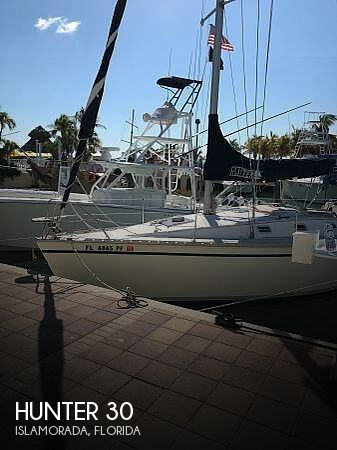 Used Hunter Sailboats For Sale in Florida by owner   1988 Hunter 30