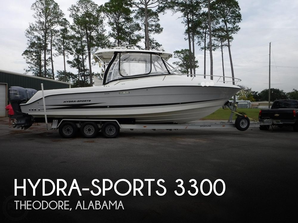 2006 Hydra-Sports boat for sale, model of the boat is Vector 3300 VX & Image # 1 of 40