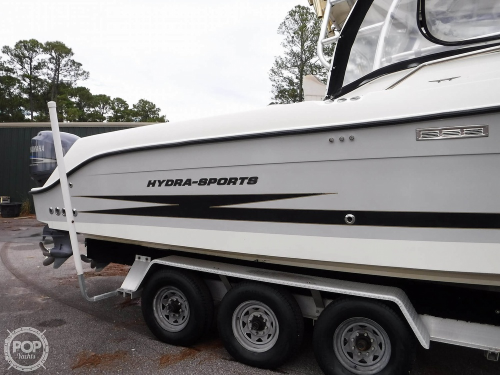 2006 Hydra-Sports boat for sale, model of the boat is Vector 3300 VX & Image # 39 of 40