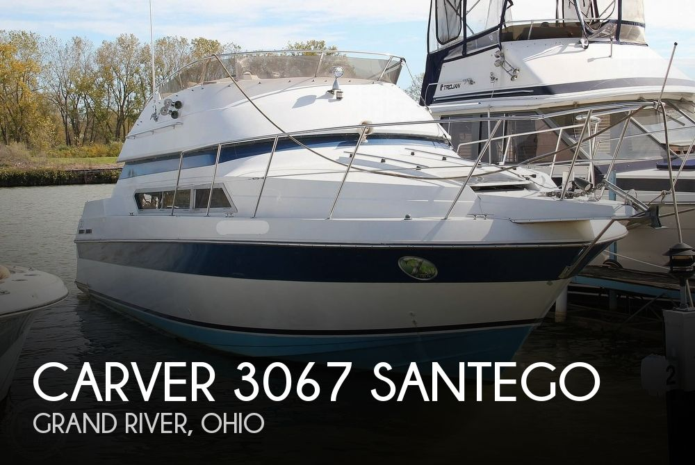 Used Carver 30 Boats For Sale by owner | 1989 Carver 30