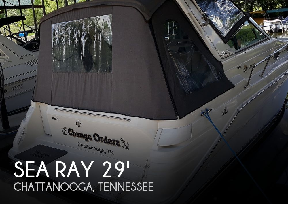 Used Sea Ray 290 Boats For Sale by owner   1995 Sea Ray 290