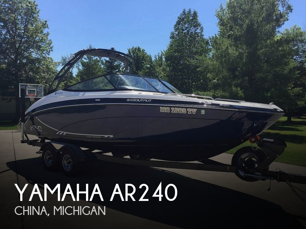 Used Yamaha Boats For Sale by owner | 2016 Yamaha AR240
