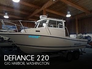 Used Ski Boats For Sale in Washington by owner | 2009 Defiance Admiral 220 EX