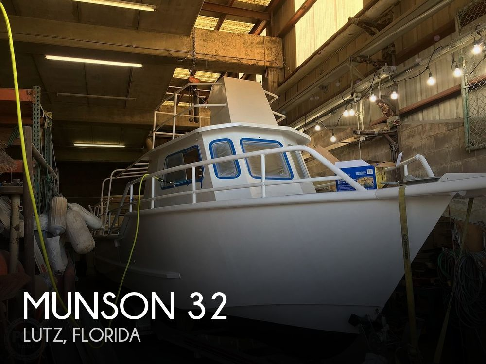1986 Munson boat for sale, model of the boat is 32 & Image # 1 of 40