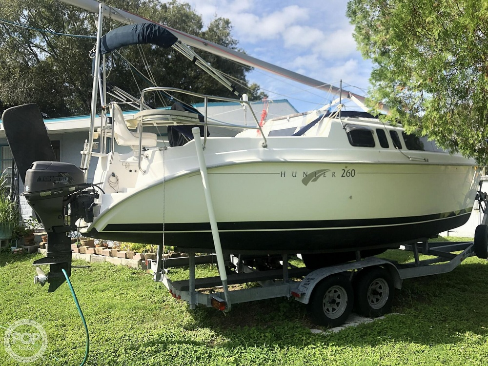 2003 Hunter boat for sale, model of the boat is 260 & Image # 3 of 40