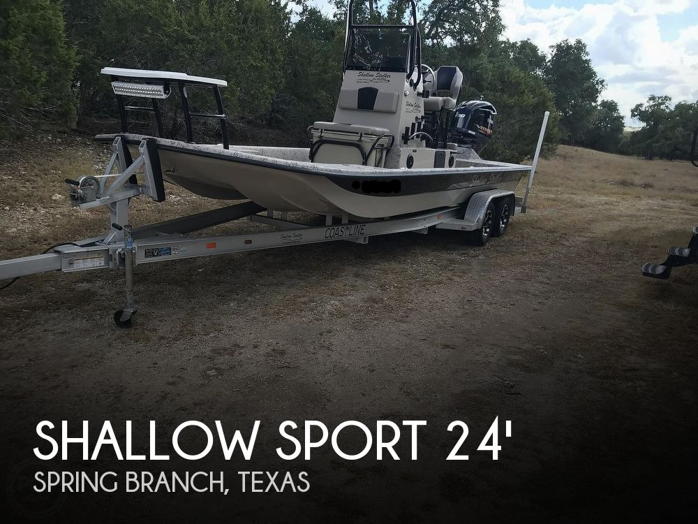 Used Boats For Sale in San Antonio, Texas by owner | 2016 Shallow Sport PRO 24 CAT