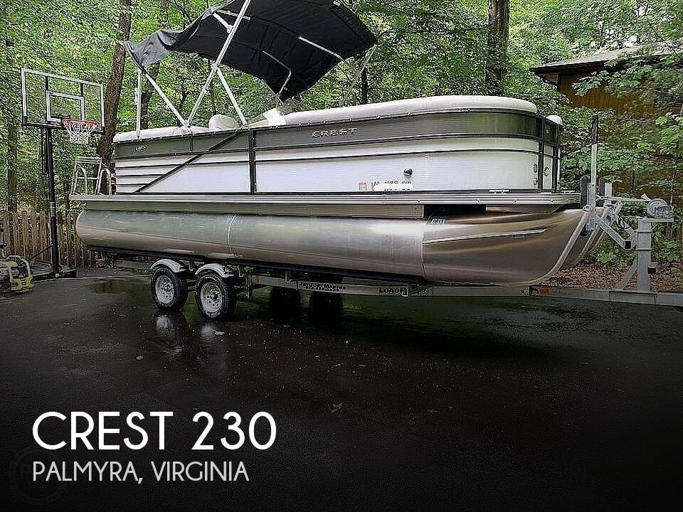 2017 CREST II 230 SLC CPT for sale