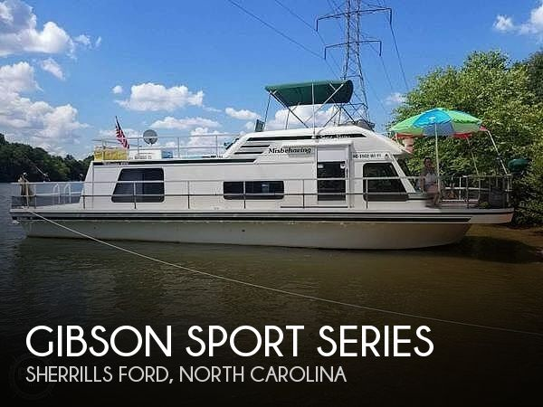 Used Boats For Sale in Charlotte, North Carolina by owner | 2000 41 foot Gibson Sport Series